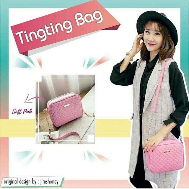 Jims Honey Ting Ting Bag Softpink