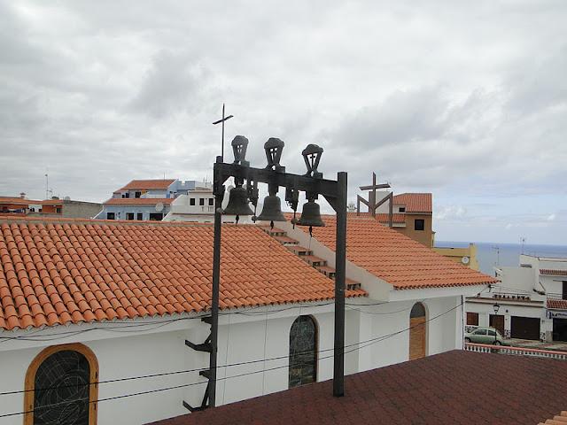 Resultado de imagen de campanas de la iglesia de guadalupe los realejos