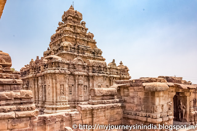 Pattadakal Virupaksha Temple Tower