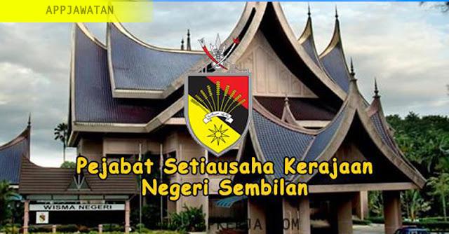 Jawatan Kosong kerajaan di Pejabat Setiausaha Kerajaan Negeri Sembilan