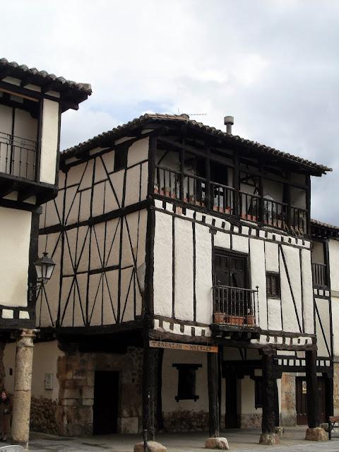 Casas típicas de Covarrubias