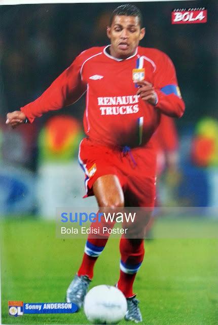 Poster Sonny Anderson (Olympique Lyonnais)