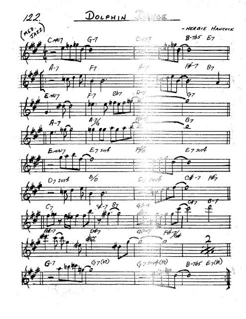 Partitura Saxofón Herbie Hancock
