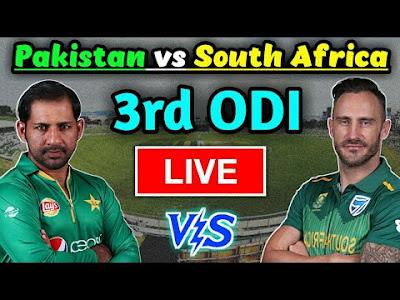 SA vs Pak 3rd ODI