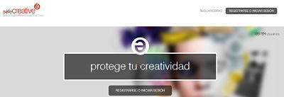 Registro en SafeCreative
