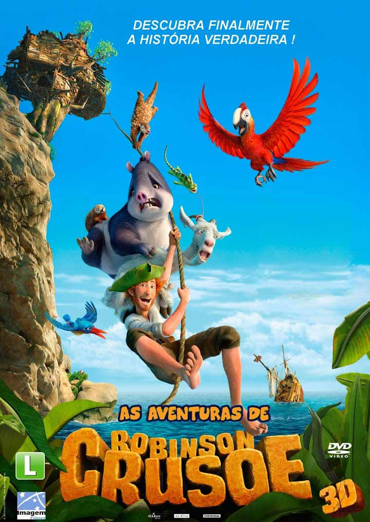 As Aventuras de Robinson Crusoé Torrent – BluRay 720p e 1080p Dual Áudio