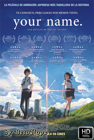 Your Name [1080p] [Japones Subtitulado] [MEGA]