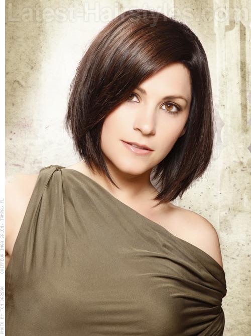 Fashioneye: Medium Length Hairstyles for spring 2012