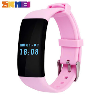 SKMEI Smartwatch Wristband LED - D21 by omahkitastore