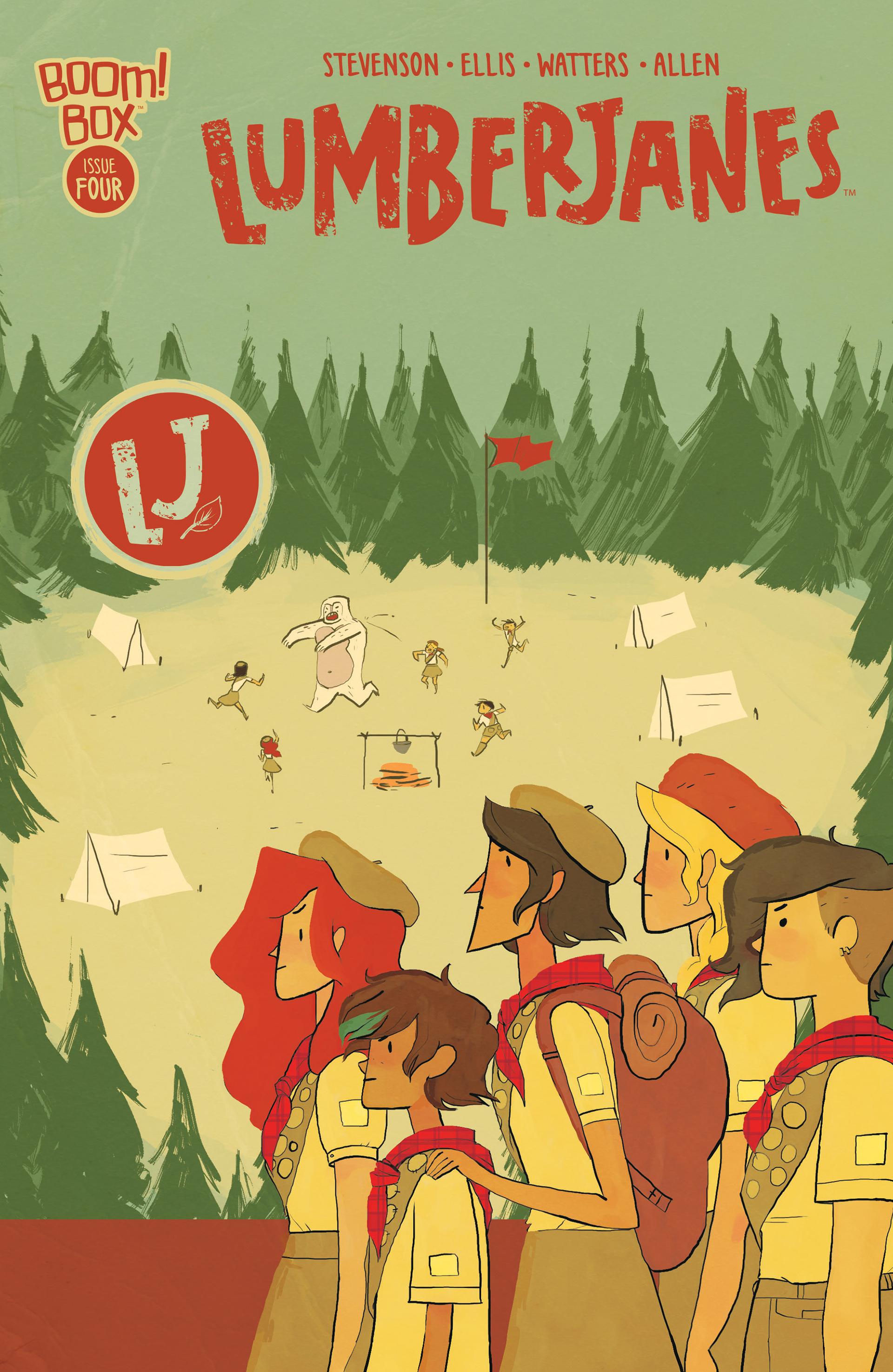 Lumberjanes 4 Page 1