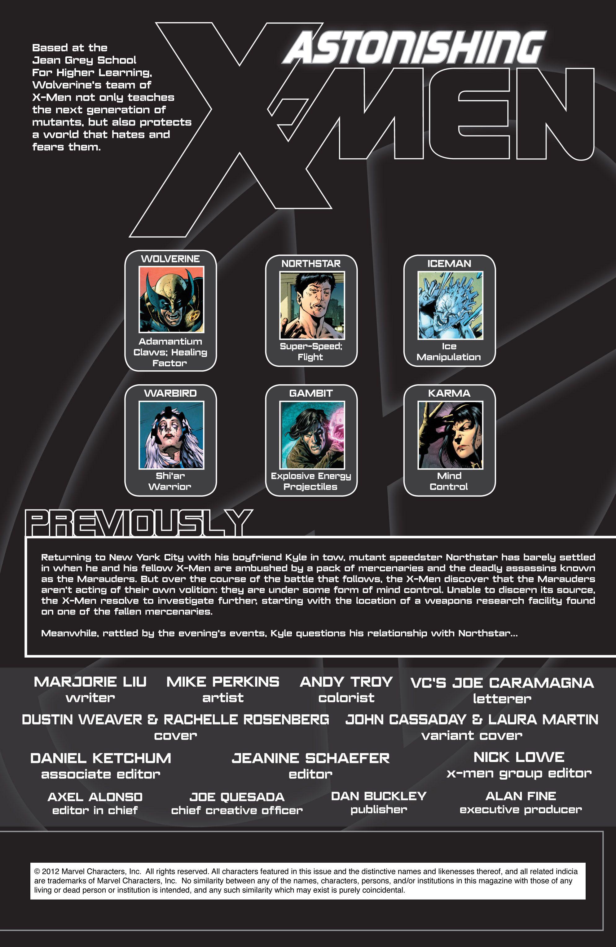 Read online Astonishing X-Men (2004) comic -  Issue #50 - 2