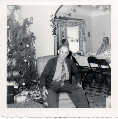 Climbing My Family Tree: My great-grandfather, Owen James Henn, Christmas 1955