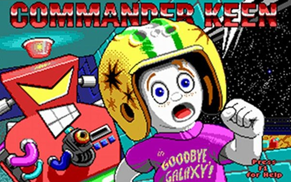 commander keen good bye galaxy