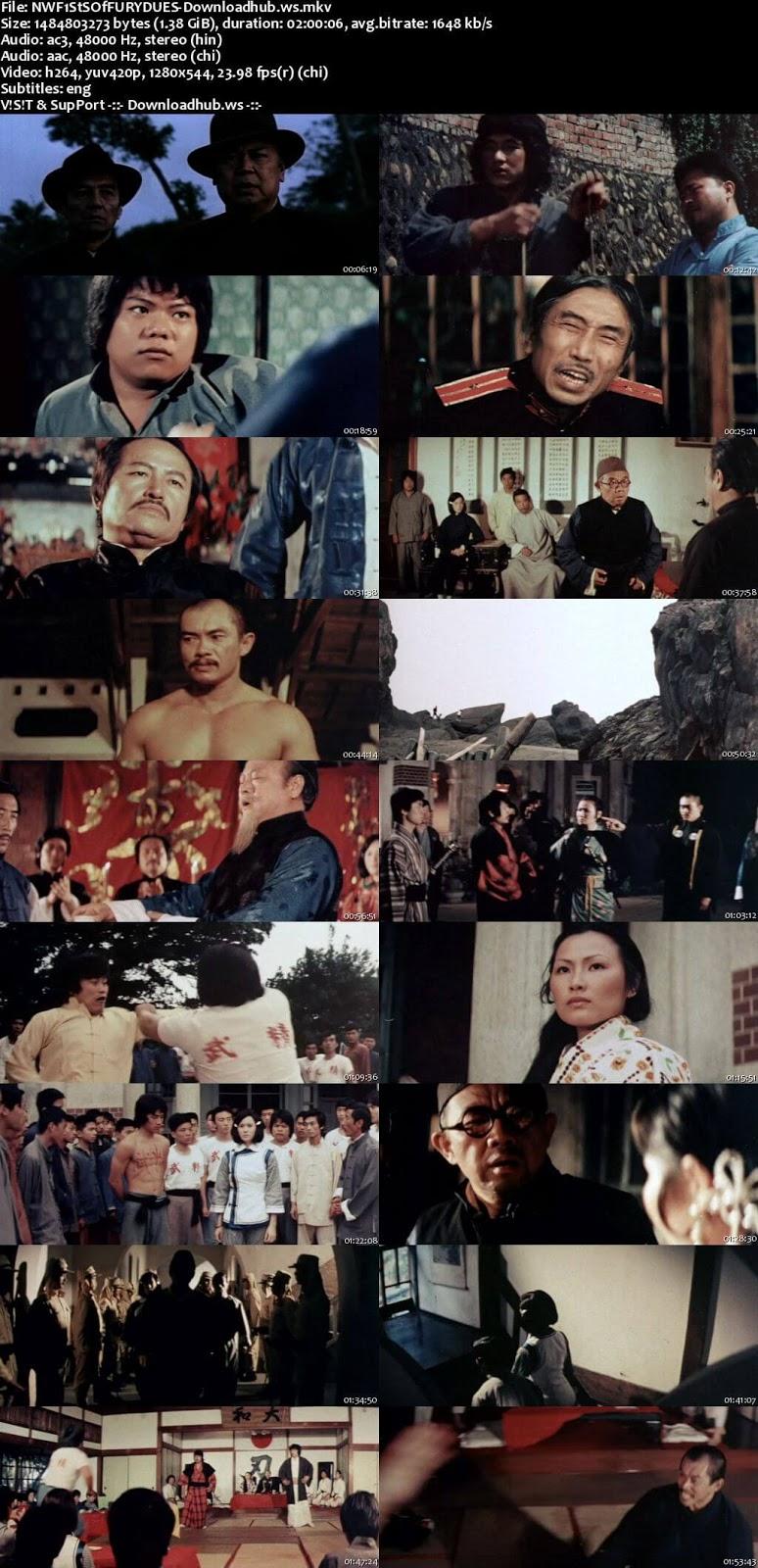 New Fists of Fury 1976 Hindi Dual Audio 720p BluRay Free Download