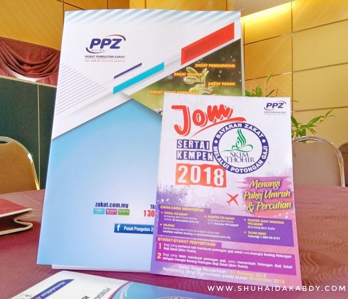 PPZ MAIWP Melancarkan Kempen Skim Potongan Gaji Zakat - Skim Thohir 2018