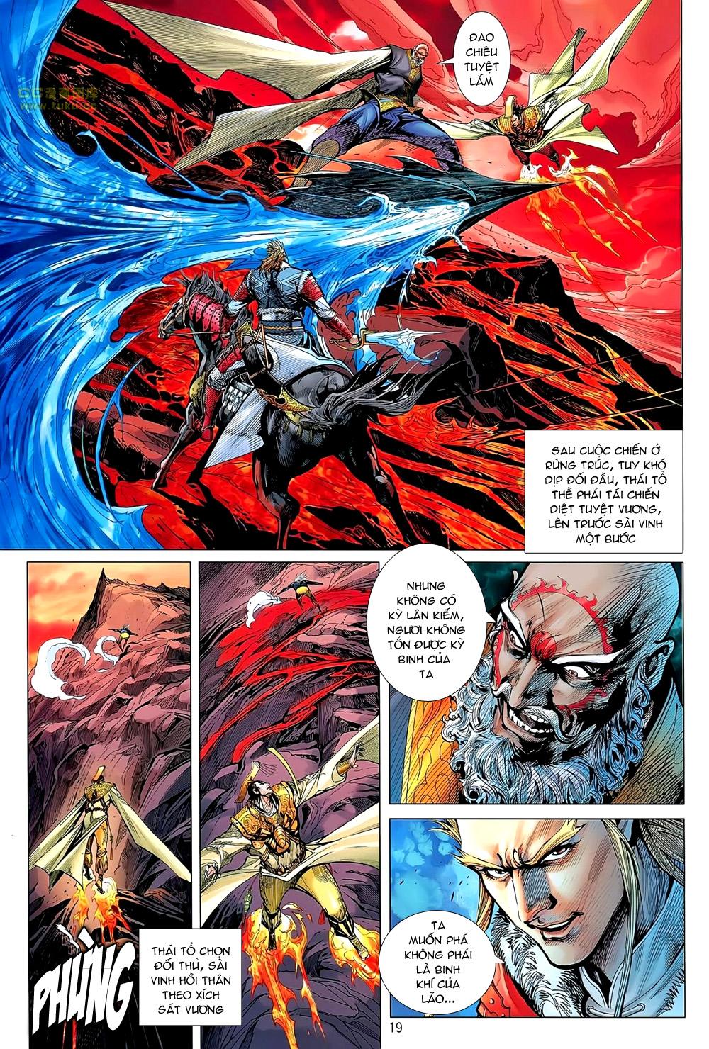 truyện tranh thiết tướng tung hoành Chapter 46/