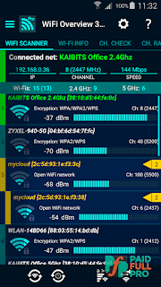 WiFi Overview 360 Pro Paid APK