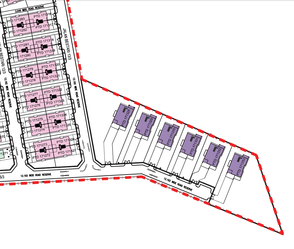 Bestari Heights Site Plan UrPropertySG