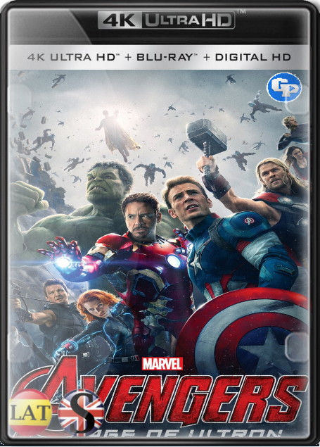 Vengadores 2: La Era de Ultrón (2015) 4K UHD LATINO/INGLES/ESPAÑOL