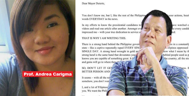 This UST professor's open letter for Duterte will surely touch your heart