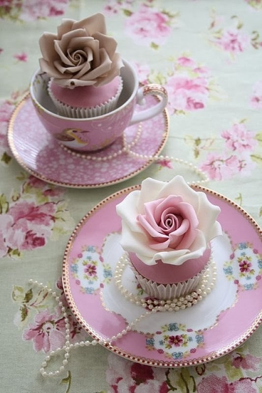 pink tea party ideas