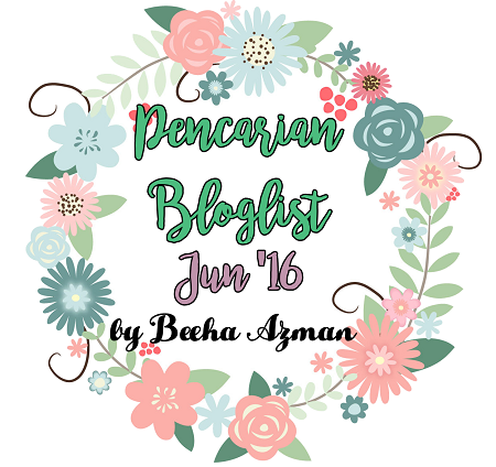 Pencarian Bloglist Jun 2016 By Beeha Azman