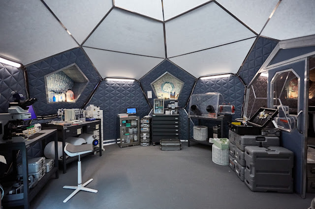 National Geographic 'Mars' - lab in Olympus Town
