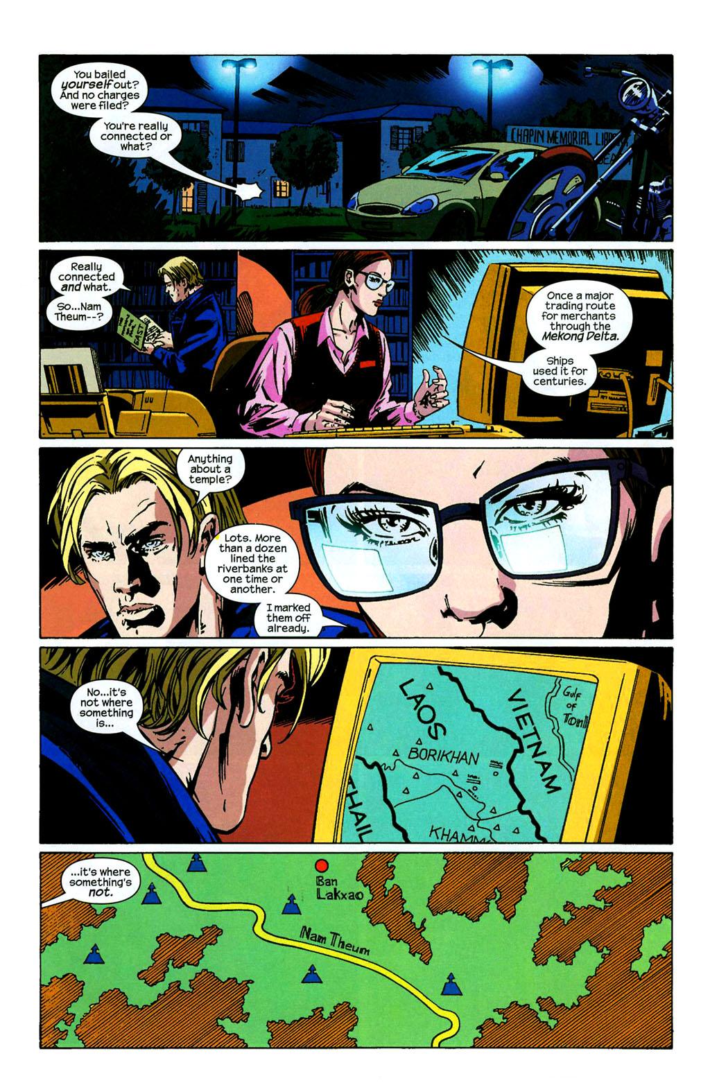 Hawkeye (2003) Issue #4 #4 - English 14
