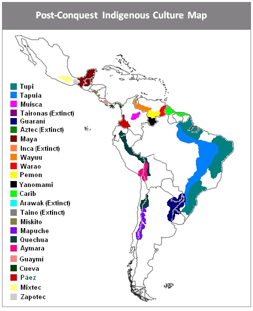 A history of the conquest of central america by the spanish