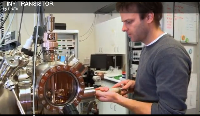 Nanotechnology transistor powered by single electrons