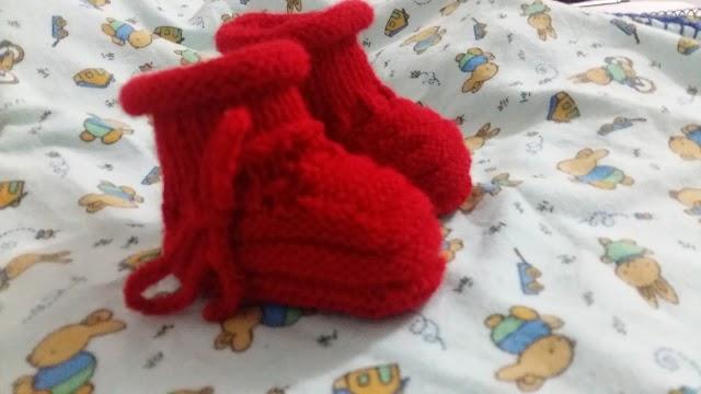 Sapatinho Vermelho Menina ou Menino