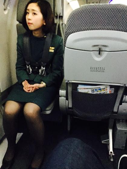 長榮短髮空姐