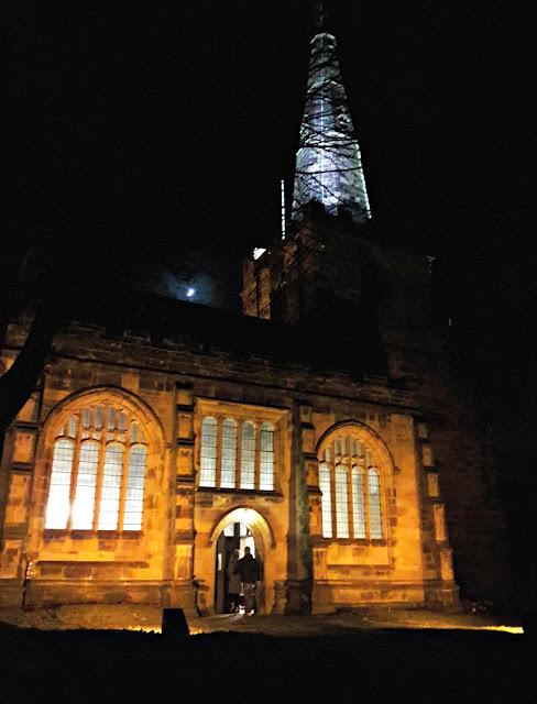 Christmas Eve, St Oswald's Church, Winwick