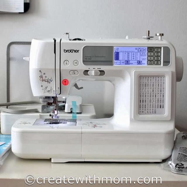 he240 embroidery machine