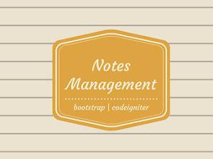 Sistem Manajemen Catatan Pribadi PHP