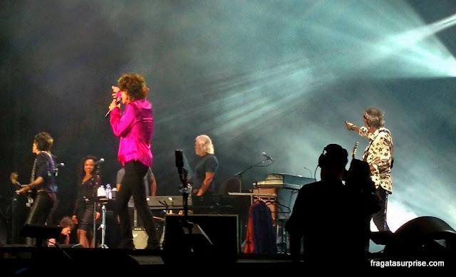 Rolling Stones, show no Rio de Janeiro, 2016