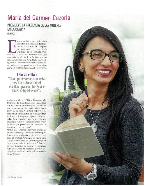 Perfil María del Carmen Cazorla / Politécnico / Revista Hogar