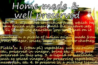 Homemade & well preserved