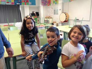 Mario y su violín