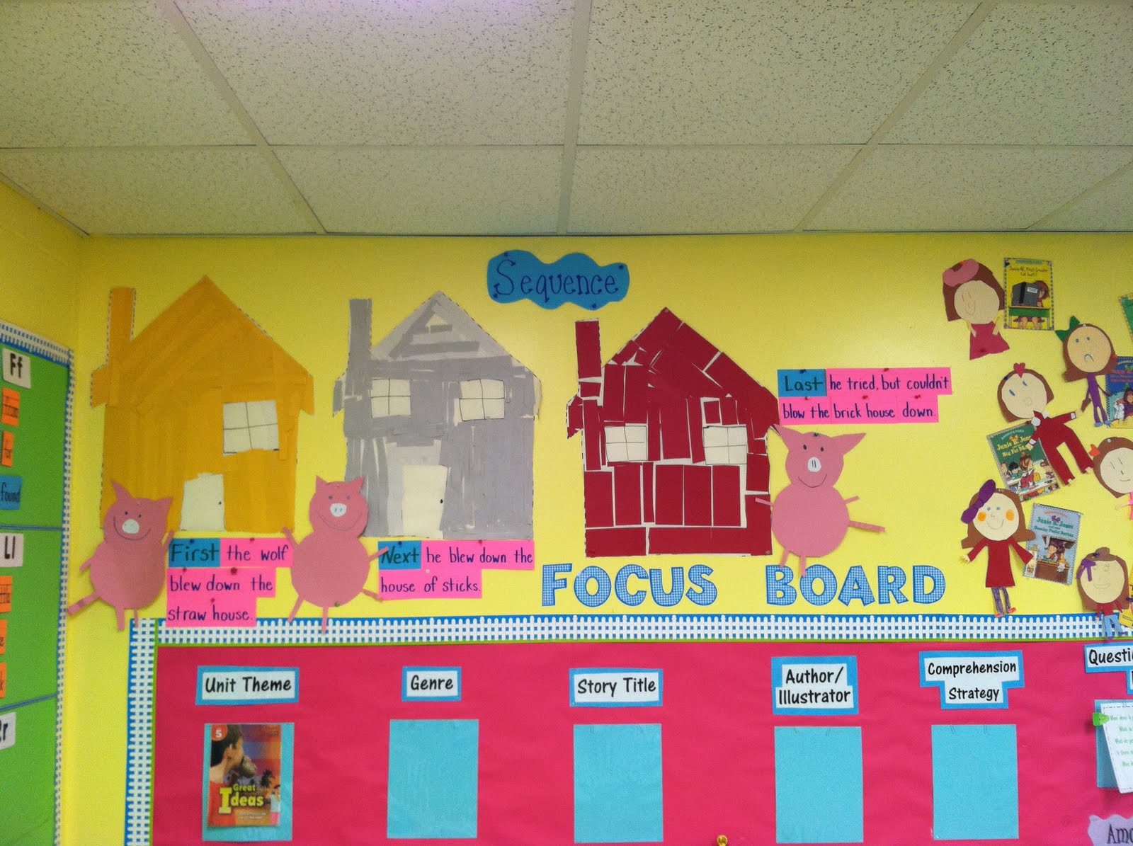 Life In First Grade Awesome Automobiles T Three Little Pigs And Inventions