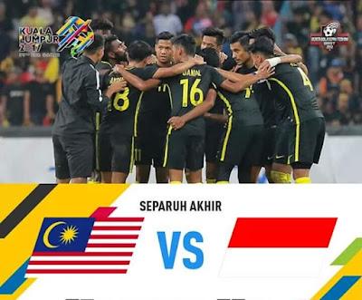 Live Streaming Malaysia vs Indonesia Sukan SEA Kuala Lumpur 26 Ogos 2017