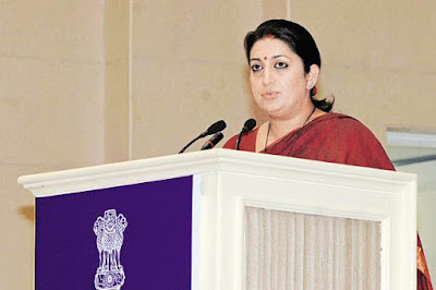 "A highlight of union minister Smriti Irani's emotional speech in Parliament on Wednesday was her challenge to opposition to ask about her caste.  As she said,  ""My name is Smriti Irani. I challenge you to ask me my caste."""