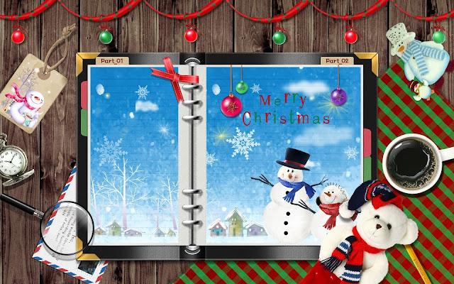 Hình nền máy tính Đêm Noel