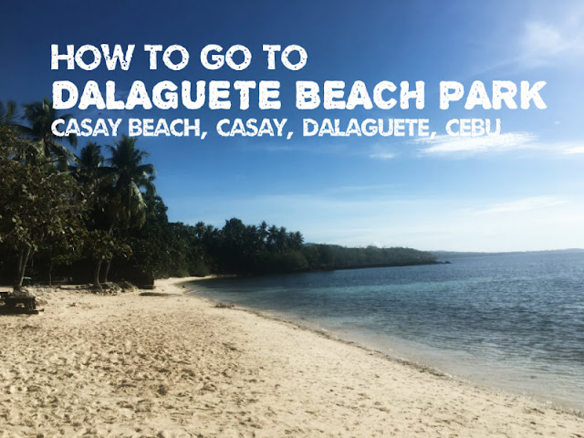 How to go to Casay Beach Dalaguete Beach Park