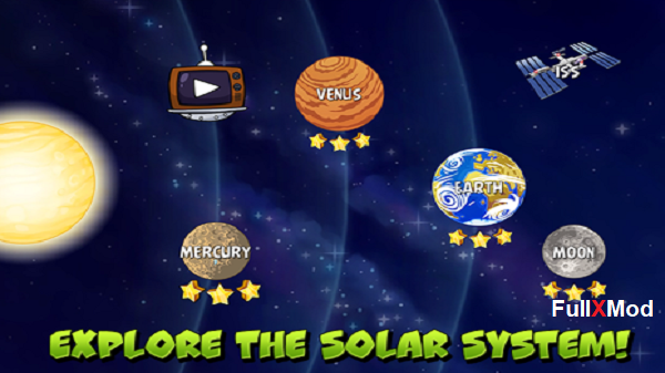 Download Angry Birds Space Premium HD Mod Apk Full Version for Android