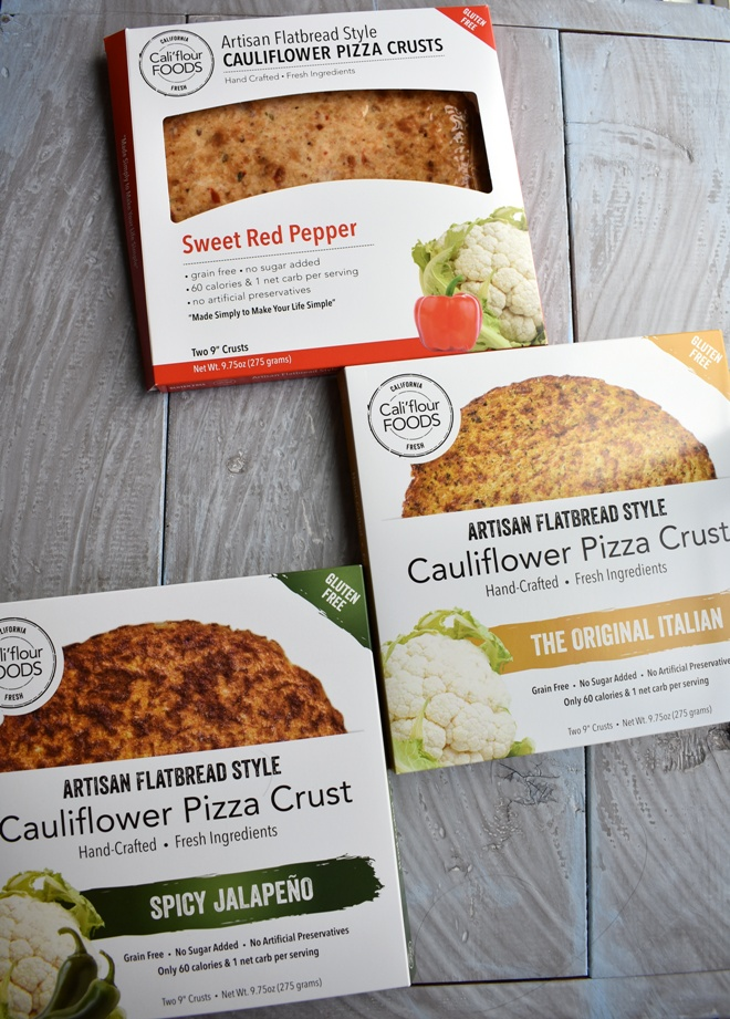 Cauli'flour Foods Cauliflower Pizza Crust