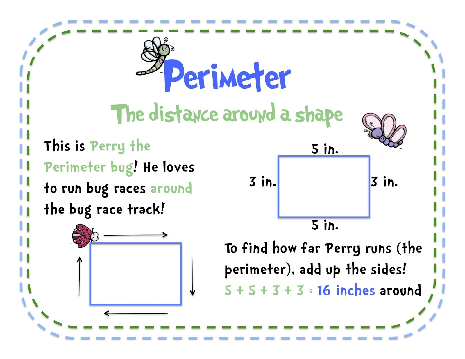 A Teacher S Idea Teaching Area And Perimeter