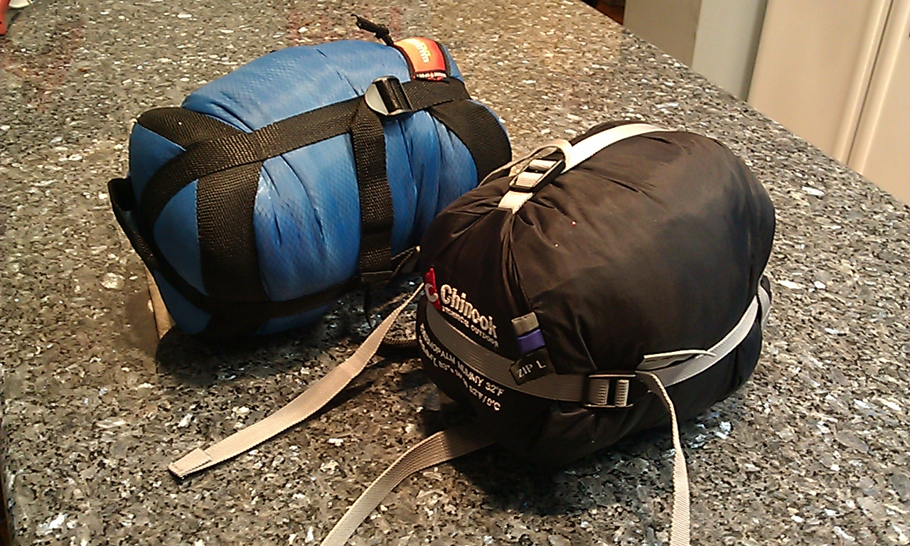 Chinook Thermopalm Vs Suisse Sport Adventurer Summer Mummy Bag Review
