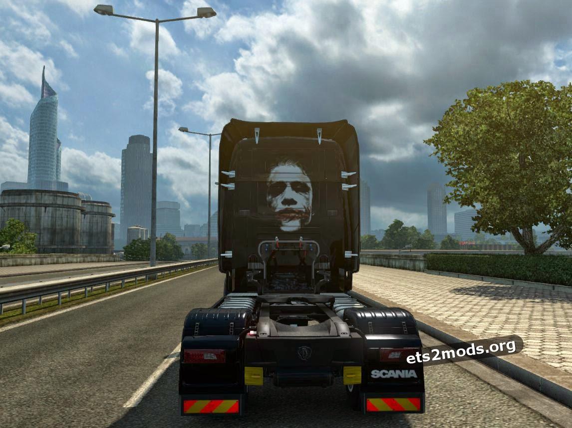 Scania RJL Joker skin