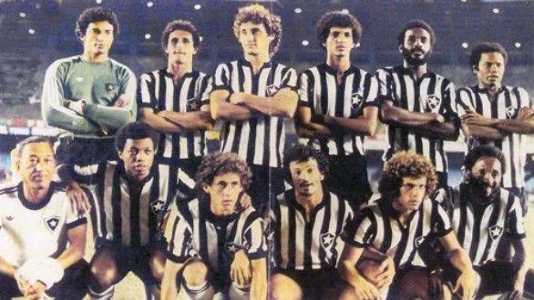 Botafogo invicto no Brasileirão 1977